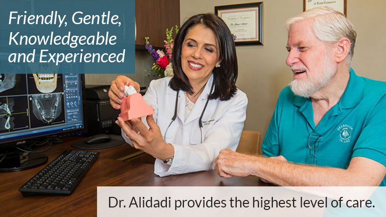 Friendly, Gentle, Knowledgeable and Experienced. Dr. Alidadi provides the highest level of care.